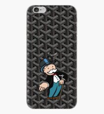 Black Goyard Monopoly iPhone Case