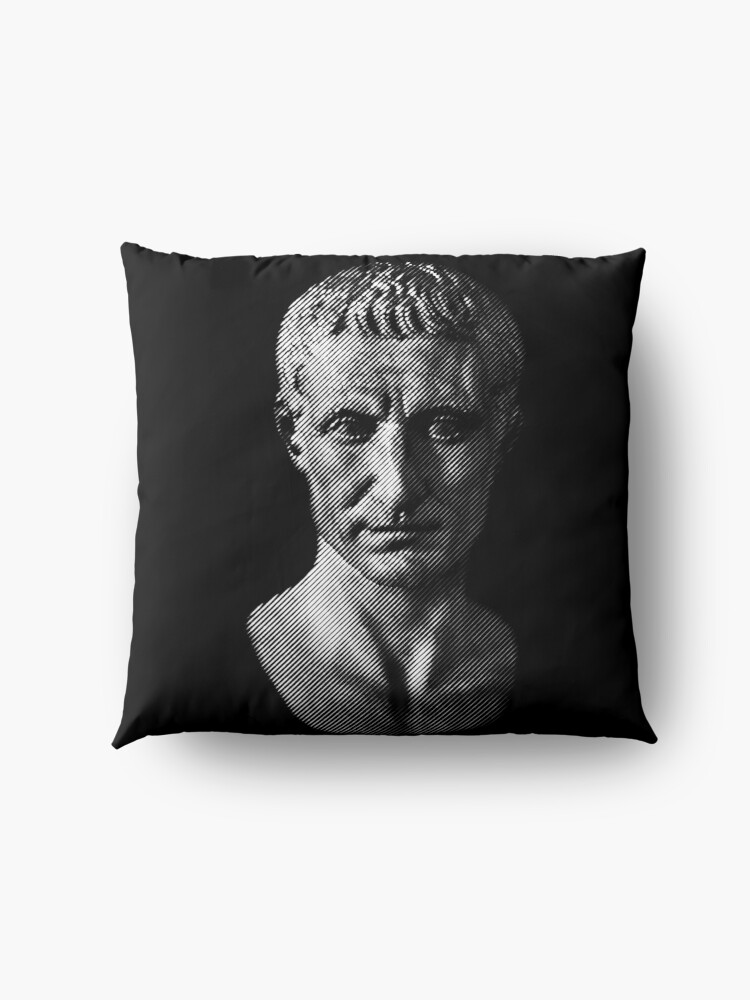 Alternate view of Gaius Julius Caesar Floor Pillow