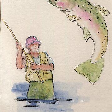 Flyfishing: Good Catch by salamandaz