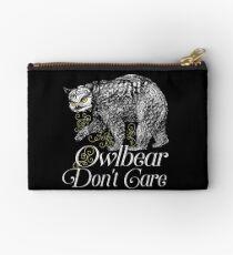 Owlbear Don't Care  Studio Pouch