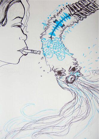 Burn out. by Nicole Pallante
