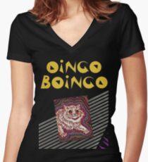 oingoboingo Women's Fitted V-Neck T-Shirt