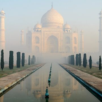 Taj Mahal at Sunrise 02 by fotoWerner