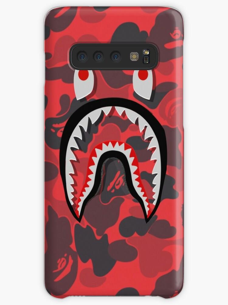 brand new 91b19 47490 'red bape shark' Case/Skin for Samsung Galaxy by TerrykSanders
