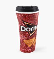 Nacho Cheese Doritos Glitter Travel Mug