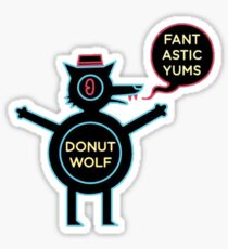 Night in the Woods - Donut Wolf Sticker