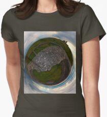 Dun Eochla, Inishmore, Aran Islands Women's Fitted T-Shirt