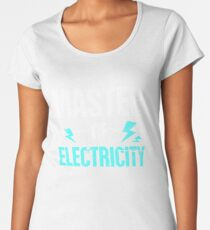 Master of Electricity | Awesome Electrician Women's Premium T-Shirt
