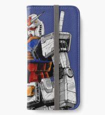 Gundam iPhone Flip-Case/Hülle/Klebefolie