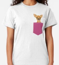Lulu - chihuahua, cute pet cute dog cell phone case, gift for dog people Classic T-Shirt
