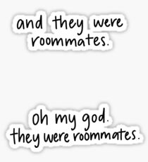 Vine reference- roommates sticker pack Sticker
