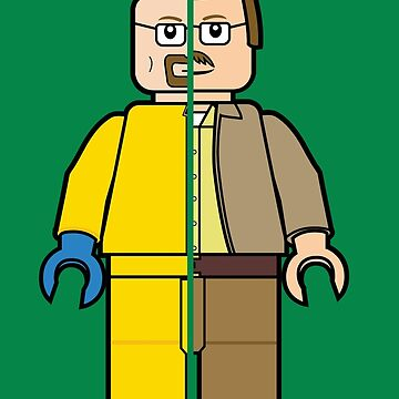 Lego Walter White by playstopreplay