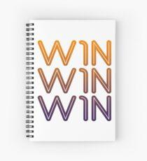 win-win-win Spiral Notebook