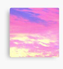 Magic Dusk Sky Canvas Print