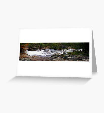 Noble Falls - Western Australia  Greeting Card