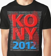 KONY 2012 Graphic T-Shirt