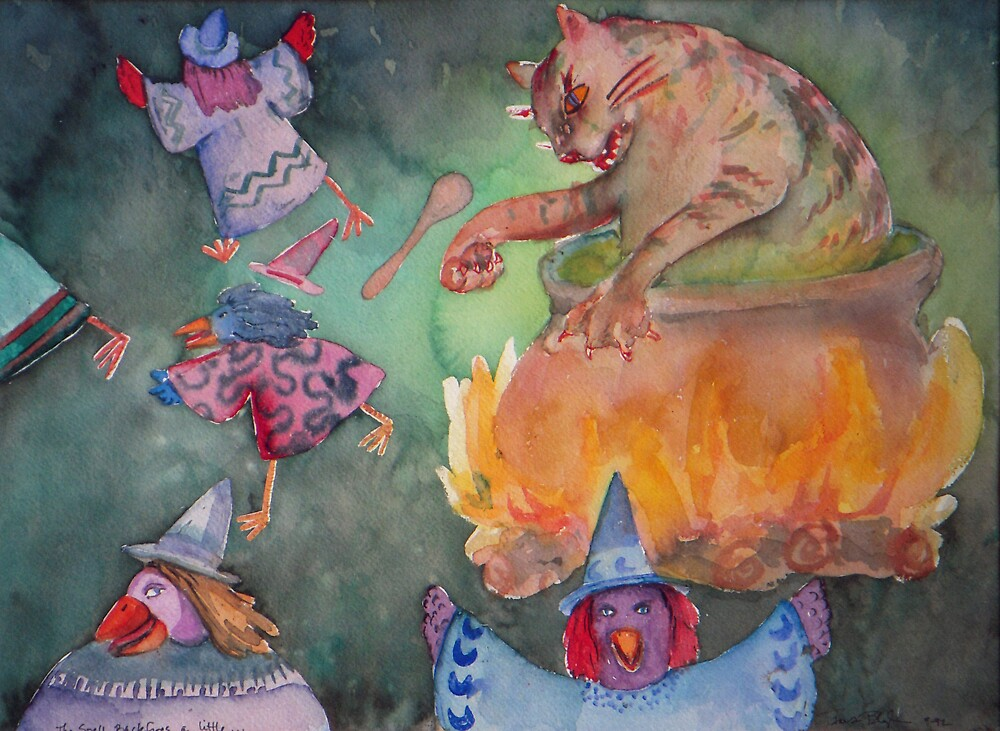 The Spell Backfires a Little by Tama Blough