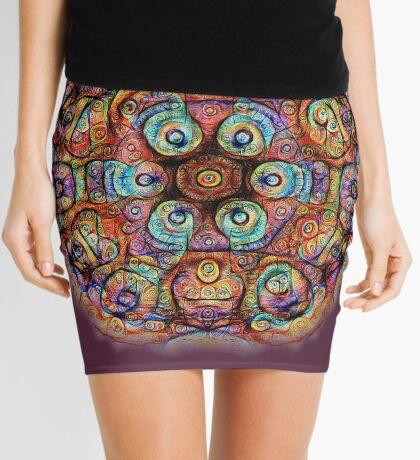 #DeepDreamed Amulet Mini Skirt