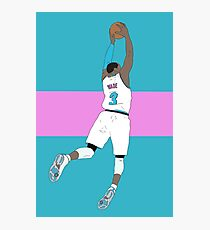 Dwyane Wade Vice Photographic Print