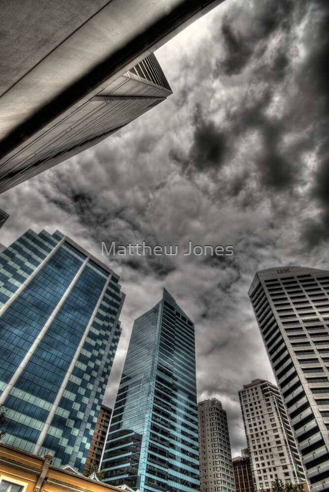 A Storm on Sydney  by Matthew Jones