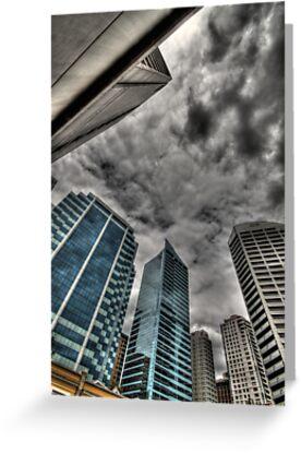 A Storm on Sydney  by Matthew Jones
