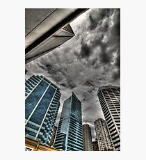 A Storm on Sydney  Photographic Print
