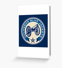The Blue Canon Greeting Card