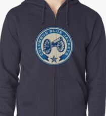 The Blue Canon Zipped Hoodie