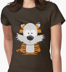 Hobbes Speechless Women's Fitted T-Shirt