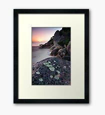 Dawn - Lighthouse Point Framed Print