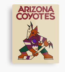 Arizona Coyotes Metal Print