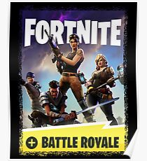fortnite - battle royale Poster