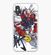 Astra Red Rahmen iPhone-Hülle & Cover