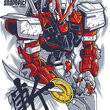 Astray Red Frame by Snapnfit
