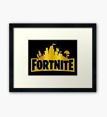 fortnite - video game Framed Print