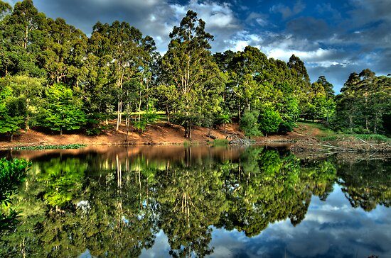 """""""Let Us Reflect"""" - Marysville - Yarra Ranges - The HDR Experience by Philip Johnson"""