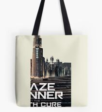 maze runner the death cure WCKD Tote Bag