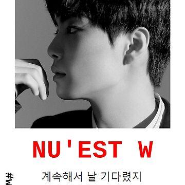 NU'EST W - #W.HERE KIM JONGHYUN 'JR' WITH POSTER/SHIRT/NOTEBOOK (...) by wayfinder