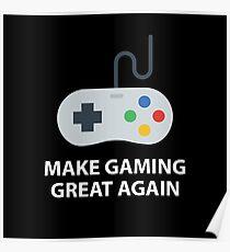 Make gaming great again Poster