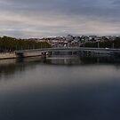 Early morning in Lyon by Catrin Stahl-Szarka