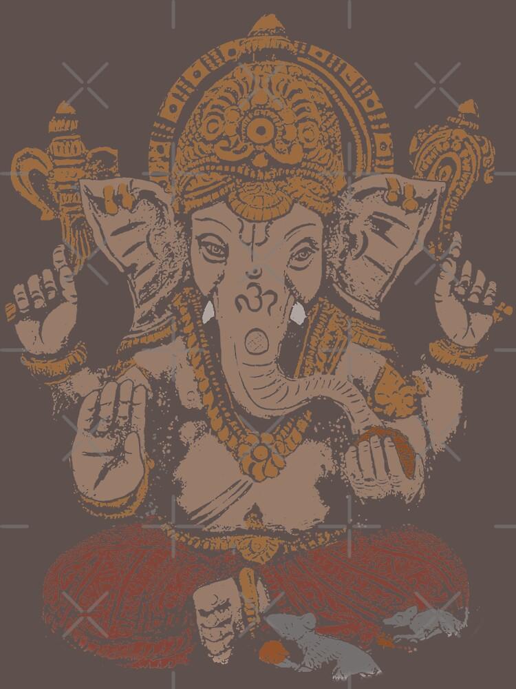 Ganesha 3D von ramanandr