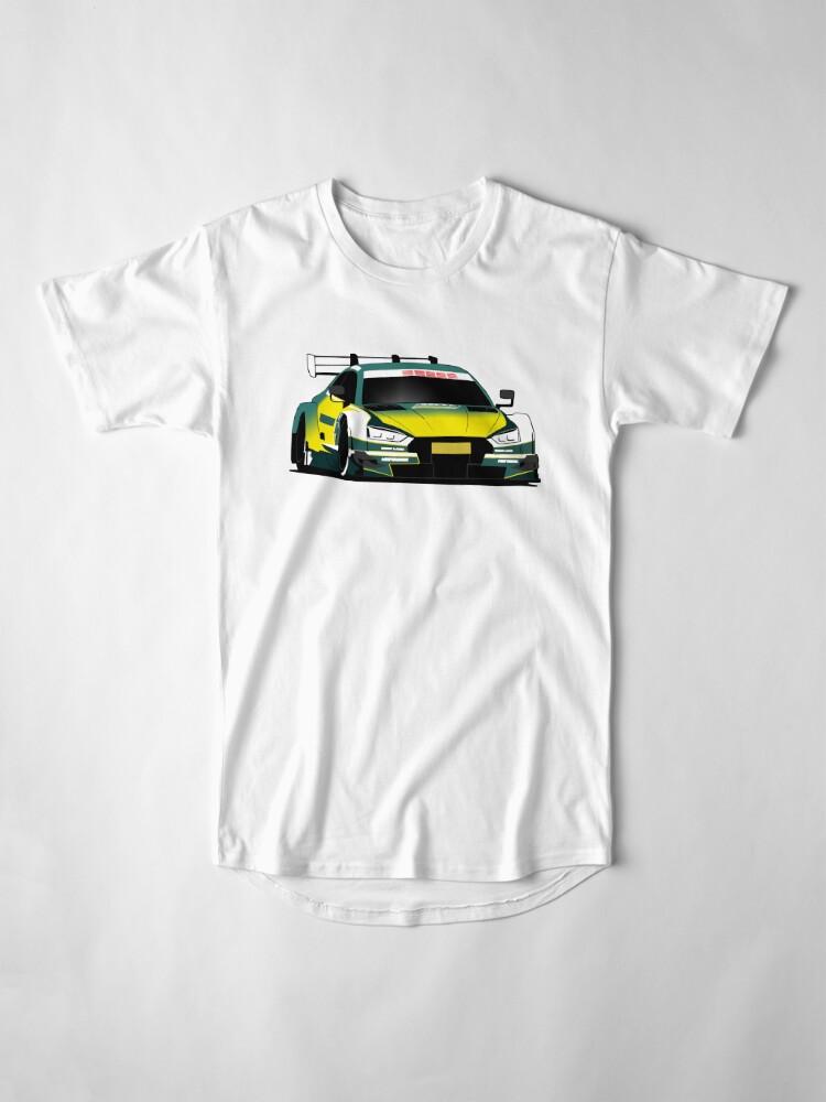 Alternate view of DTM Touring Car Racing Long T-Shirt