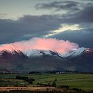 Skiddaw Alpenglow in the English Lake District by Martin Lawrence