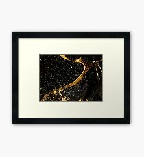 Cosmic fraction Framed Print
