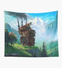 Howl's Moving Castle Landscape | Studio Ghibli Wall Tapestry