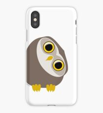 Curious little owl iPhone Case