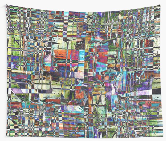 Colorful Chaotic Composite by Phil Perkins