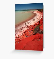 """Desert, meet Ocean..."" Monkey Mia, Western Australia Greeting Card"