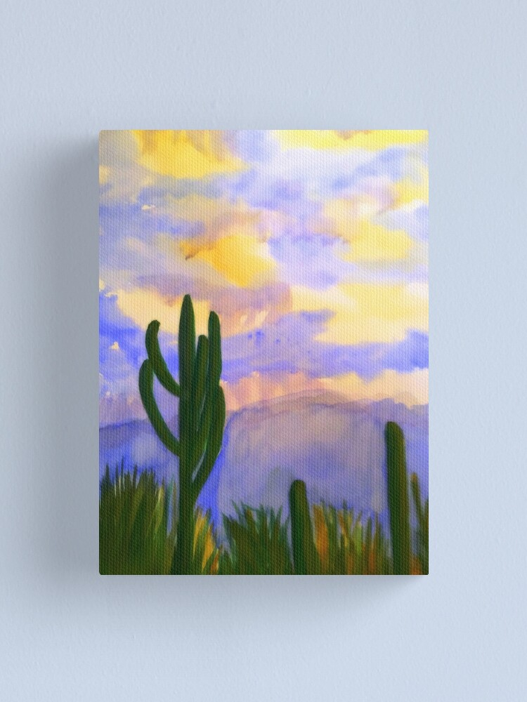 Alternate view of Monsoon Sunset Canvas Print