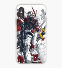 Astray Red Frame iPhone Case